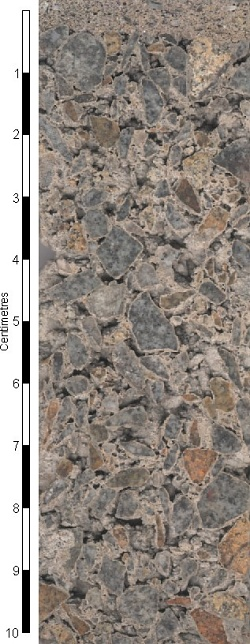 Fine grained granite