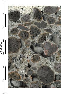 Sintered pulverised fuel ash