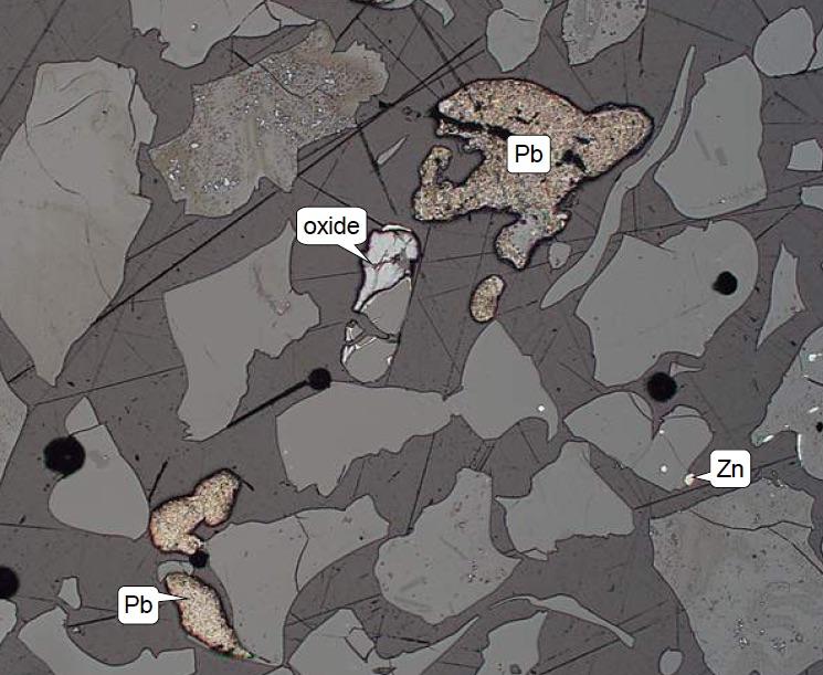 Slag Cement Microscope : Lead slag petrolab