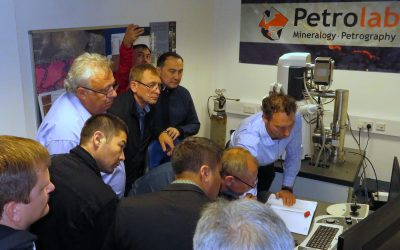 Automated Mineralogy sparks interest of Petrolab visitors