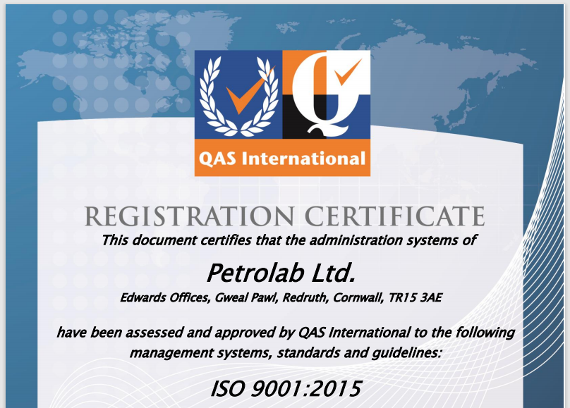 ISO 9001:2015 Accreditation Success